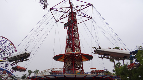 Disneyland Resort, Disney California Adventure, Paradise Pier, Golden Zephyr