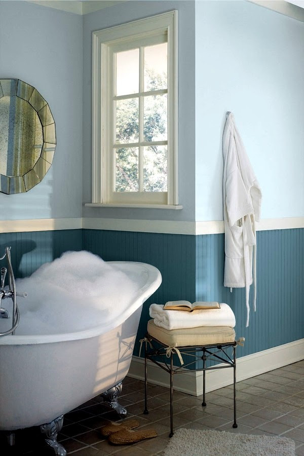 Bathroom wall color - fresh ideas for small spaces ...