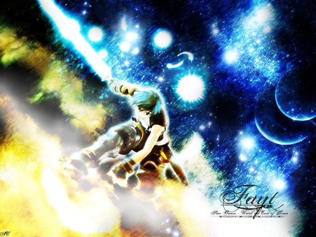 Star Ocean Till The End Of Time Wallpaper Fayt Minitokyo