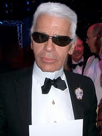 English: Karl Lagerfeld at the Red Cross Ball ...