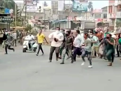संगमनेरमध्ये पोलिसांवर हल्ला: थोरातांचे गाव म्हणून गप्प बसलात का?; भाजपचा सवाल