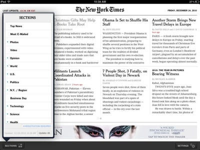 new york times newspaper. The New York Times is a good