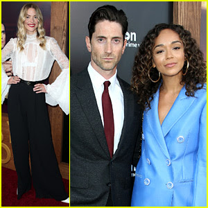 Jaime King & Ashley Madekwe Support Iddo Goldberg at 'Last Tycoon' Premiere!