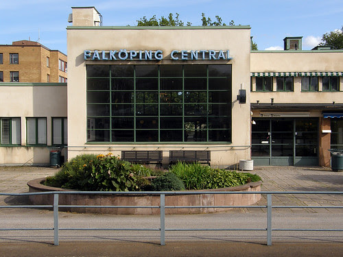 Falköping central station