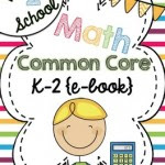 Common Core Math FREE Back-to-School ebook: Grades K-2