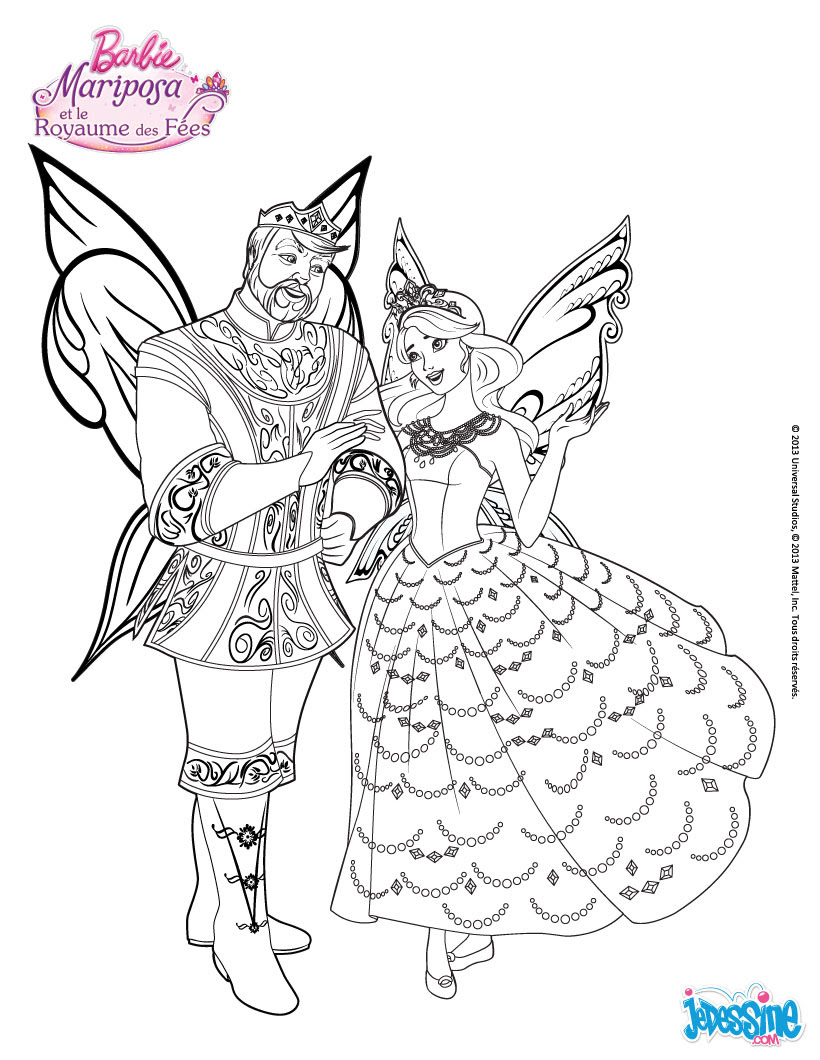 Der König und Prinzessin Regellius Catania