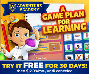 Get 30 Days Free of Adventure Academy!