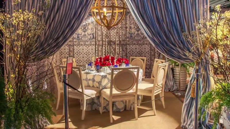 Watch See How The Striking Tablescapes For Diffas 2015 Dining By