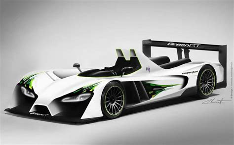 GreenGT LMP H2 Unveiled, Expected to Run at 2012 Le Mans   autoevolution