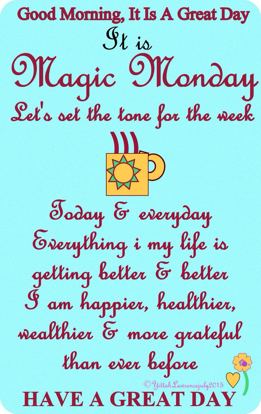 Good Morning Monday Quote Pictures Photos And Images For Facebook