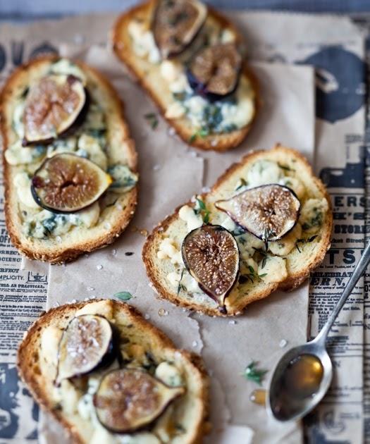 Fig, Gorgonzola & Honey Tartines