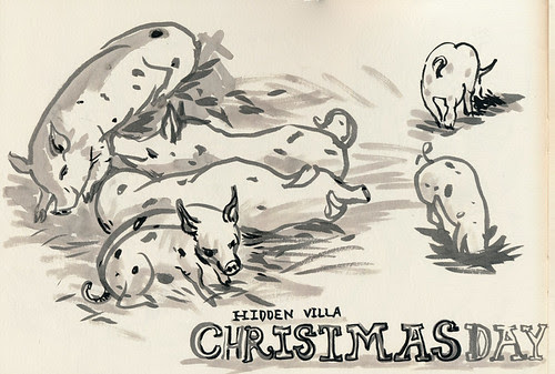 Christmas Day 2013 by apple-pine