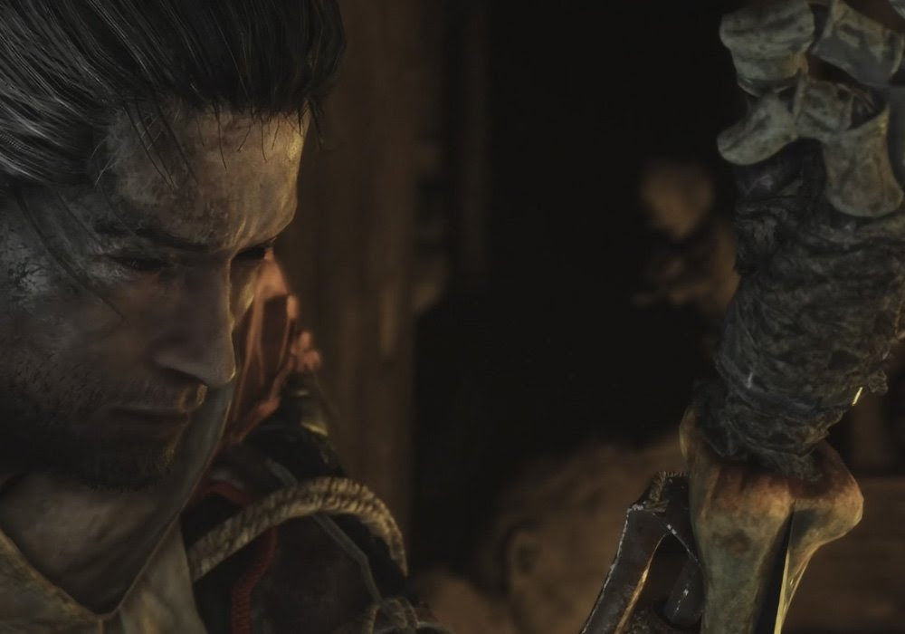 From Software's new game is Sekiro: Shadows Die Twice and it has a hook screenshot