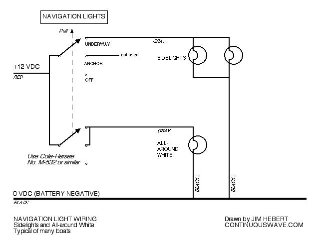 Sea Nymph Wiring Diagram