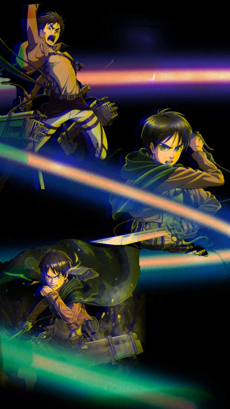 Eren Wallpaper Edit Attack On Titan Amino