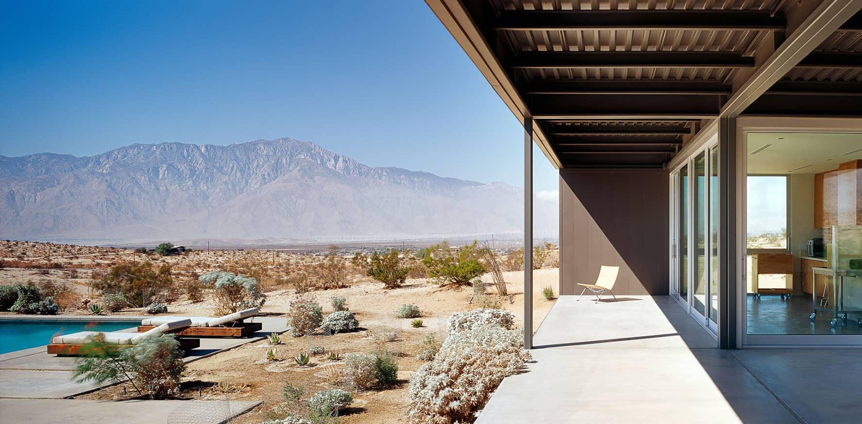 Contemporary House in Desert Hot Springs by Marmol Radziner   HomeDSGN