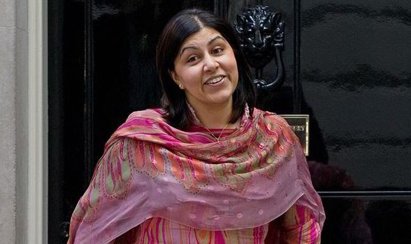 Lady Warsi advocates for Christian s rights