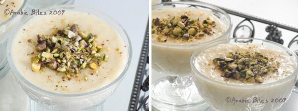 Roz bil halib (Rice Pudding )2