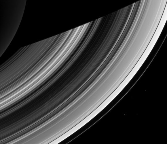Cassini image of Saturn's rings from Dec. 20, 2012 (NASA/JPL-Caltech/SSI)