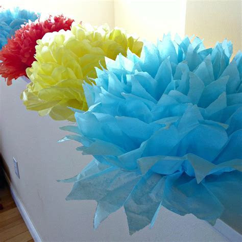 Tutorial  How To Make DIY Giant Tissue Paper Flowers   Sew