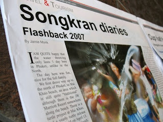 Jamie's Phuket Songkran 2007 in the Phuket Post
