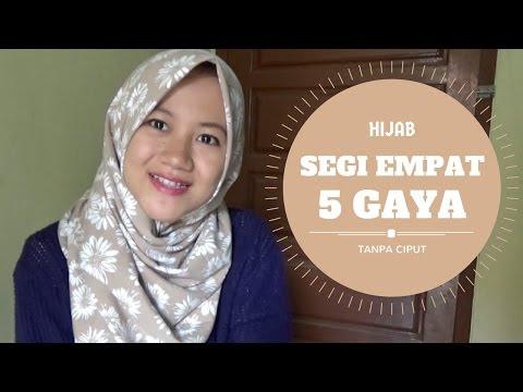 VIDEO : 5 gaya berhijab segi empat tanpa ciput ninja | sehari - hari #nmy hijab tutorials - 5 gaya berhijab segi empat5 gaya berhijab segi empattanpa ciputninja | sehari - hari #nmy5 gaya berhijab segi empat5 gaya berhijab segi empattanpa ...