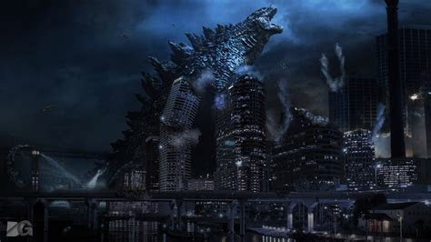 wallpaper godzilla  speedart youtube