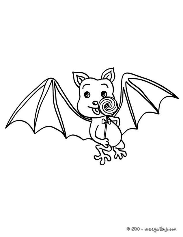 Dibujos Para Colorear Murciélagos Y Vámpiro Eshellokidscom