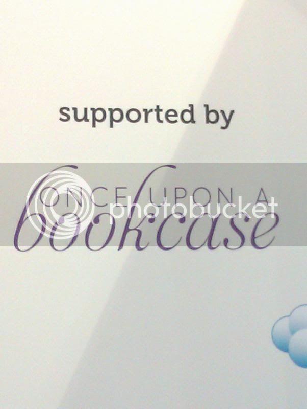 Blog logo on wall