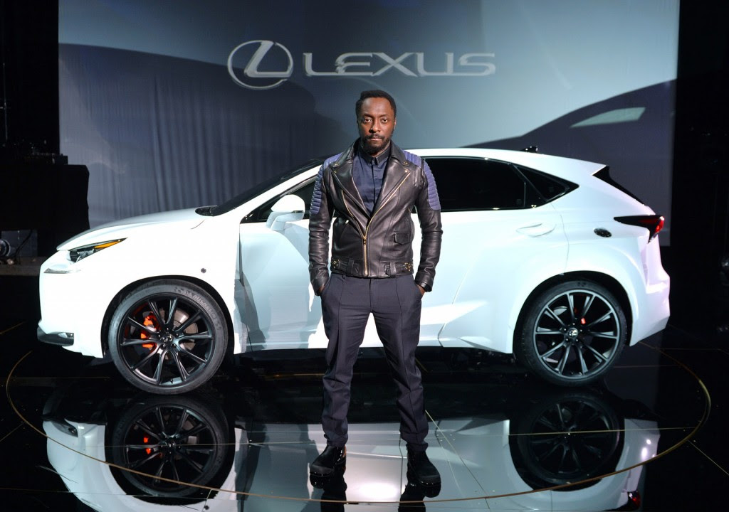 Will.i.am's Custom 2015 Lexus NX Is Surprisingly Tasteful
