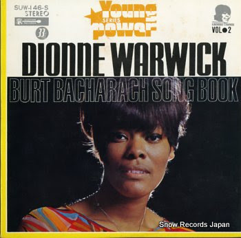 WARWICK, DIONNE burt bacharach song book