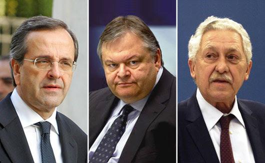 Έναρξη αντίστροφης μέτρησης για τη συμμαχική κυβέρνηση των τριών