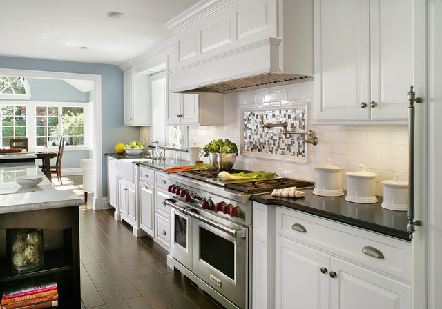 Painted White - Contemporary/Traditional - Contemporary ...