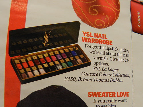 If you pay €450 for a set of nail polish, you're a complete idiot