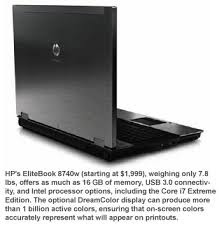 Not everyone will want to own the HP Elite-book 8740w Mobile Workstation.