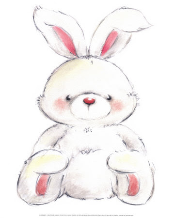 Rabbit Impressão artística