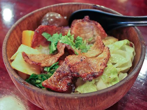 Hakka pork chop rice