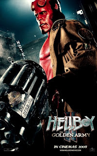 New Hellboy II: The Golden Army European Character Posters - Hellboy