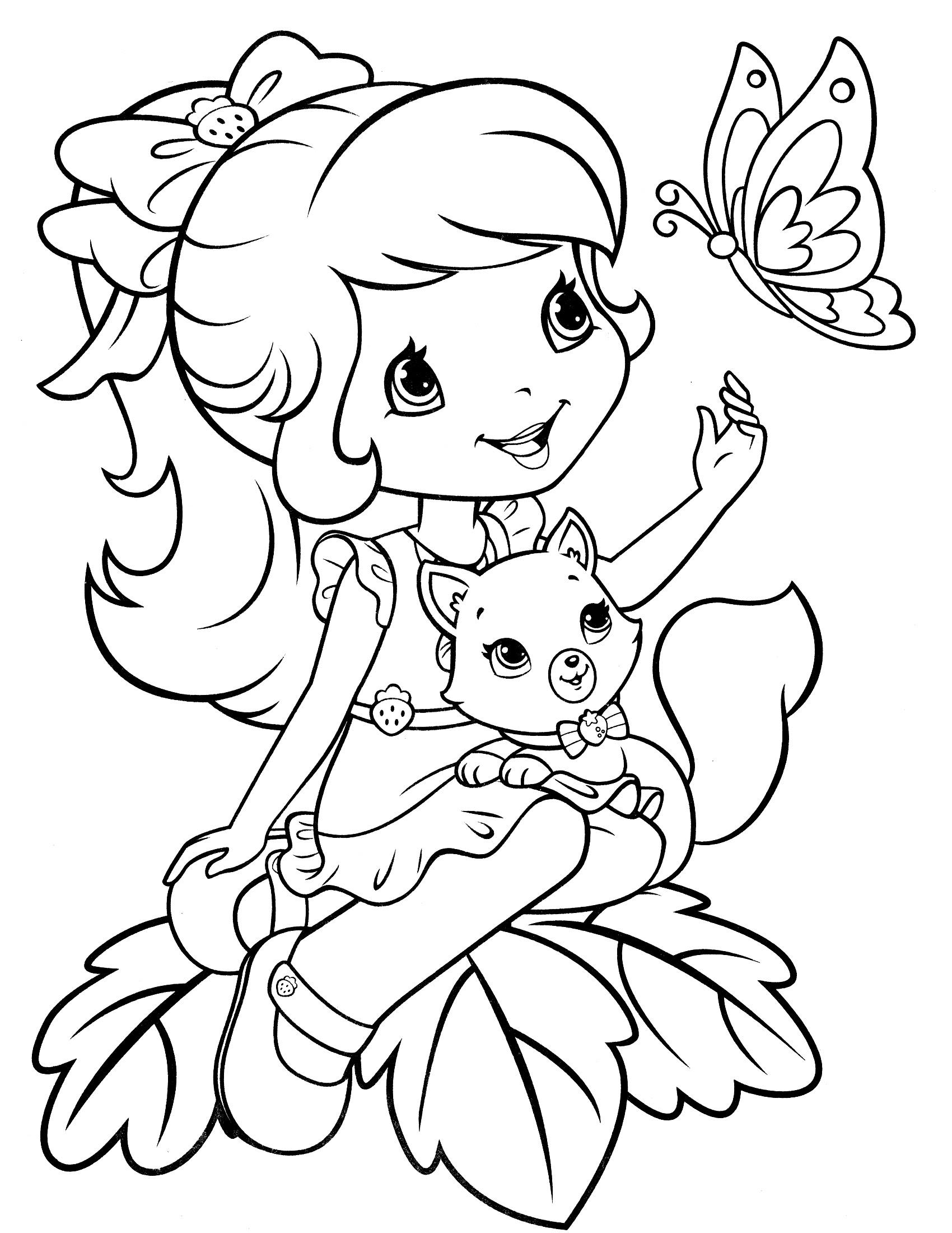 [Gratis!√] Gambar Princess Mewarnai