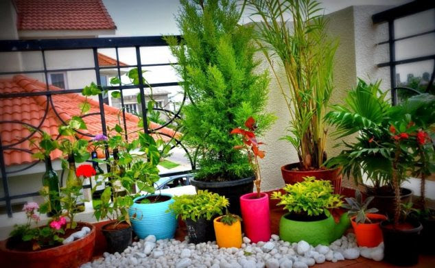 Balcony Gardening Idea 1 1024x632 634x391 15 Smart Balcony Garden Ideas That are Awesome