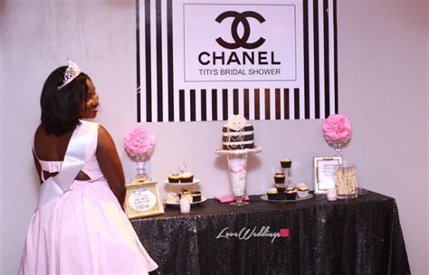 Titi's Chanel Themed Bridal Shower Partito By Ronnie