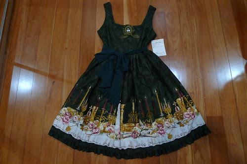 Metamorphose Dim Light Pinafore Dress (Mini Length)