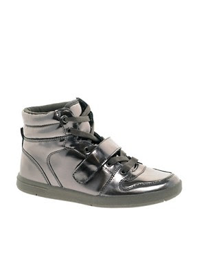Image 1 of Miss KG Lakeside Metallic High Top Trainers