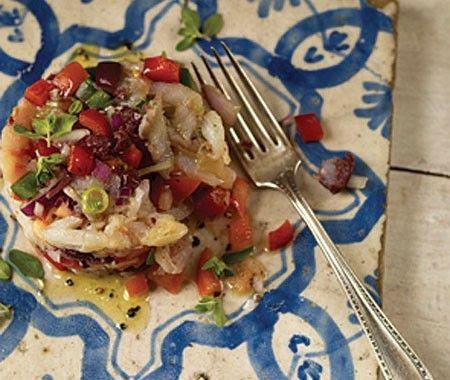 Salt Cod Salad Recipe | from Seasonal Spanish Food cookbook | House & Home