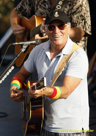 Jimmy Buffett welcomes thousands to his brand-new Margaritaville ...