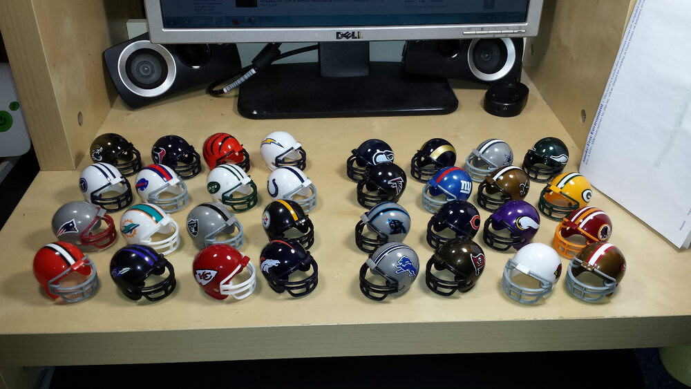 32 NFL TEAM FOOTBALL MINI HELMET pocket helmet  eBay