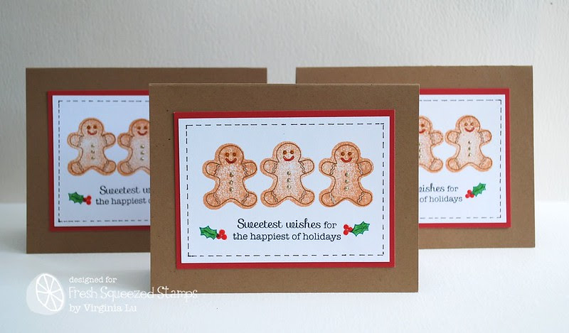 Christmas Treats (Gingerbread Boys)