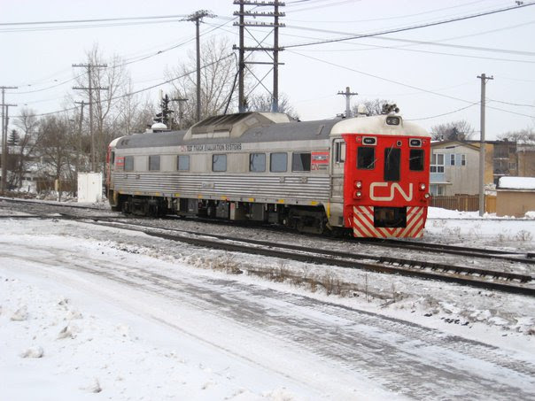CN 1501 at St James Junction. Photo by Jeff Keddy