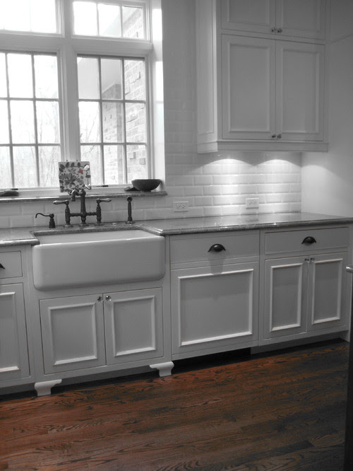 farmhouse sink traditional kitchen