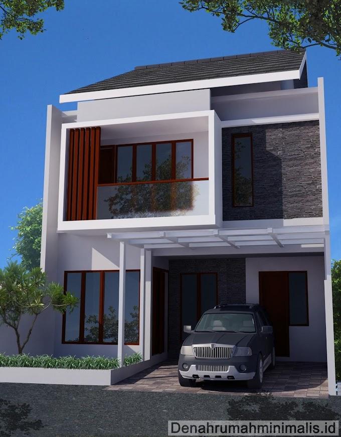 Rumah Minimalis Type 21 Tingkat | Ide Rumah Minimalis